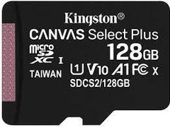 Memorie microSDXC Kingston Canvas Select Plus 128GB UHS-1, SDCS2 128GB